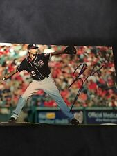 Aj Cole Signed 4x6 Photo