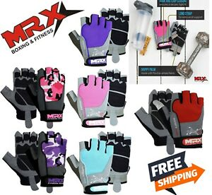MRX Women Weight Lifting Gloves Bodybuilding Gym Training Workout Cycling Glove