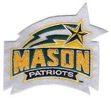 "GEORGE MASON PATRIOTS NCAA COLLEGE 4"" CHENILLE TEAM LOGO PATCH"