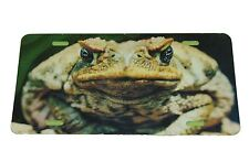 MAD FROG LICENSE PLATE ALUMINUM 6 X 12 INCHES ALUMINUM NEW