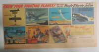 "Coca-Cola War Time Ad:""F 4U-1 Corsair Airplane"" 1943 Size: 7.5 x 15 inch"