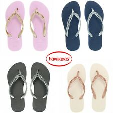 GENUINE Havaianas Brazil Slim Flash Sweet Sexy Flip Flops Sandals Sandals *BNWT*