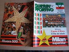 GUERIN SPORTIVO=N°19 1979=MILAN SUPERSTAR 10°SCUDETTO=POSTER DI GIANNI RIVERA=