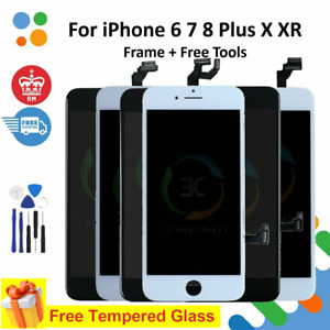 For iPhone 6 6s 7 8 Plus X XR Screen Replacement LCD Display Touch Digitizer UK