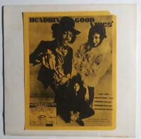 Jimi Hendrix Good Vibes LP Black Vinyl Unofficial Release Tested