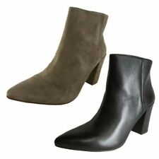 Zip Leather Medium Width (B, M) Ankle Boots for Women