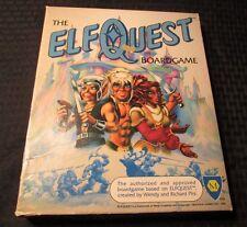 1986 ELFQUEST Boardgame Wendy & Richard Pini UNUSED/Complete Mayfair Games