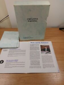 Pre-owned Home study course on  becoming  a writer-complete course modules