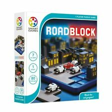 Road Block logical based Cognitive Skill-Building Puzzle IQ Game for Ages 7+ New