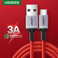 Ugreen USB Type C Cable 3A USB C Charge Data Cable for Samsung S10 S9 Huawei