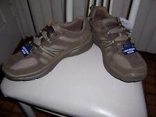 Men's Sneakers  Casual shoes Canvas Size 10.5 10 1/2 Brown Khaki Color New