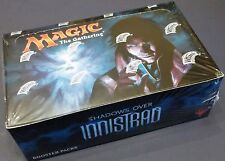 MAGIC MTG SHADOWS OVER INNISTRAD BOOSTER 1/3 BOX LOT = 12 PACKS ENGLISH