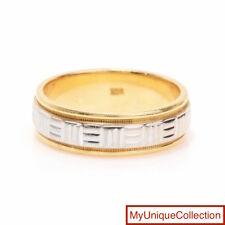 Estate 18K Gold Men's Band Ring Size 9