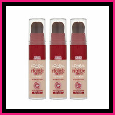 3 X L'Oreal Infallible Long Wear Foundation Brush SPECIAL 145 Rose Beige