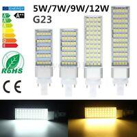 G23 5/7/9/12W 5050SMD Led Horizontal Plug Lamp Corn Light Ceiling Bulb 110V-220V
