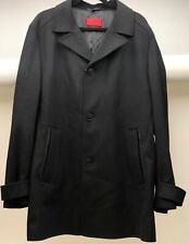 Hugo Boss Men's Slim-Fit Wool Coat, Black - 44R - NEW