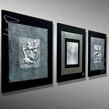 KUNST abstrakt ORIGINAL Acrylbild Malerei modern GEMÄLDE Unikat MICO Bilder Bild