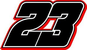 NEW FOR 2021 #23 Bubba Wallace Racing Sticker Decal - Sm thru XL - various color