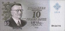 Finlandia/Finland 10 markkaa 1963 pick 104a UNC