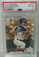 Cody Bellinger 2017 Bowman Prospects #BP149 PSA 10 Gem Mint Rookie Hot Invest rc