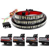 "60"" Inch Truck Tailgate LED Light Bar Brake Reverse Turn Signal Stop Tail Strip"