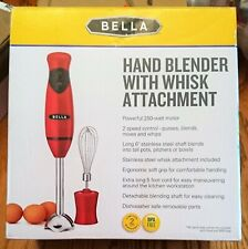 Bella Hand Blender with Whisk Attachment