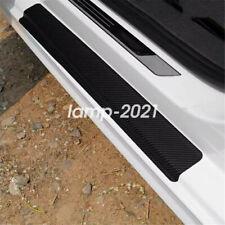 Auto Car Accessories Carbon Fiber Vinyl Door Sill Scuff Plate Sticker Protector Fits 2012 Malibu