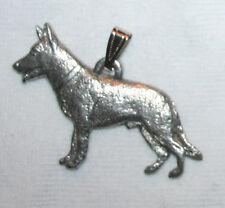 German Shepherd Dog Harris Fine Pewter Pendant Jewelry USA Made