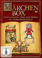 DVD Die Märchenbox Struwwelpeter, Max und Moritz, Die Heinzelmännchen 3DVDs