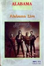 ALABAMA Live cassette tape Korea import 1988 alternative art country music