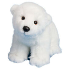 New Douglas Cuddle Toy Stuffed Soft Plush Animal Polar Bear White Cub Baby 15""