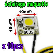 B834/10# Eclairage maquette  LED ruban souple Blanc *Jouef 10pcs