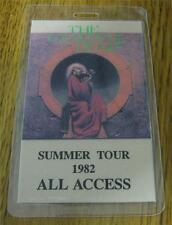 GENUINE Grateful Dead Summer Tour 1982 Laminated ALL ACCESS Backstage Pass