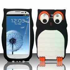 3D Cute Animals Cartoon Soft Silicone Case Cover Back For Samsung Galaxy S3 New