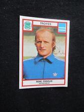 CEDOLIN  TAF TROYES   image sticker N° 312  FOOTBALL 76  PANINI FOOT 1976
