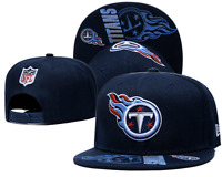 Tennessee Titans NFL Football Embroidered Hat Snapback Adjustable Cap