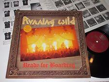 LP/RUNNING WILD/READY FOR BOARDING/Noise N 0108-1 +OIS +Insert