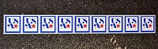 2017USA #5172 5c NonProfit Org Star Plate Coil  PNC Strip of 9 Mint NH  #P11111