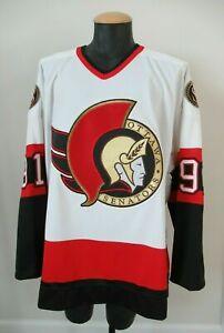 Authentic Alexandre Daigle Old Style Ottawat Senators Ultrafil CCM Jersey - 52