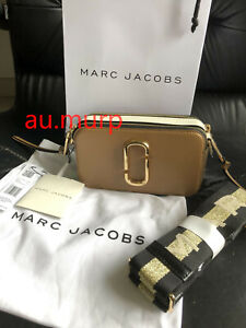 NWT Marc Jacobs Snapshot Small Camera Bag Crossbody french grey  special offer