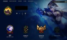 League of Legends Gold 3 Account NA