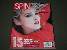 2000 APRIL SPIN MAGAZINE - MADONNA COVER - 15TH ANNIVERSARY ISSUE - O 895M