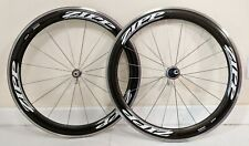 Zipp 404 Dimpled Carbon Clincher Wheelset 700c Campagnolo 10 / 11 / 12 Speed