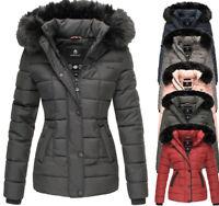 Marikoo UNIQUE Damen winter Jacke winterMantel Steppjacke Parka Winter warm