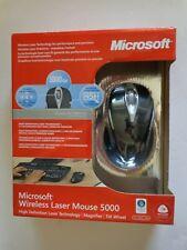 Microsoft Wireless Laser Mouse 5000 - Metallic Black (Factory Sealed Retail Box)