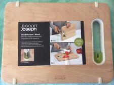 Joseph Joseph Chopping Board with Integrated Knife Sharpener Small  Wood