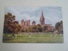 A R QUINTON Postcard 1356 CHRISTCHURCH CATH+TOM TOWER OXFORD Dated 1918  §A2227