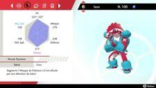 Pokemon Ixon shiny 6IV + masterball - Battle Ready - Pokémon Epée/Bouclier