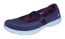 Skechers Go Step Snap Womens Walking Trainers Comfort Shoes Mary Janes Burgundy
