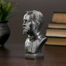 Felix Dzerzhinsky Steel Colored Bust Statue Collectible Figurine Дзержинский